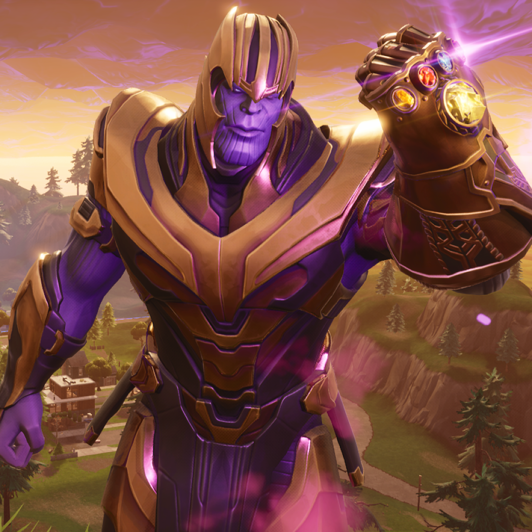 Thanos In Fortnite Forum Avatar