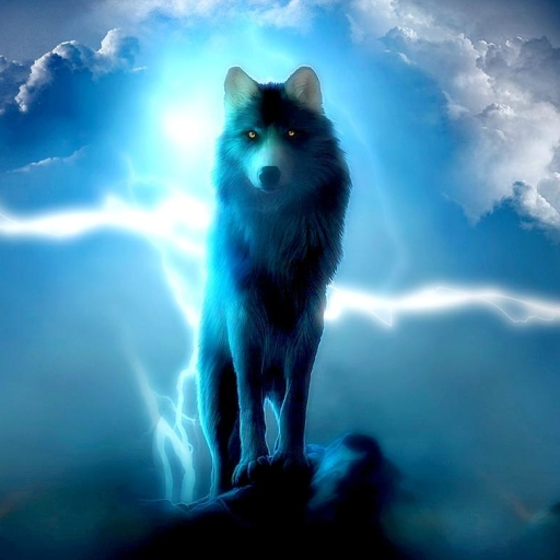 Avatar 2 Animals: Lightnig Wolf Forum Avatar