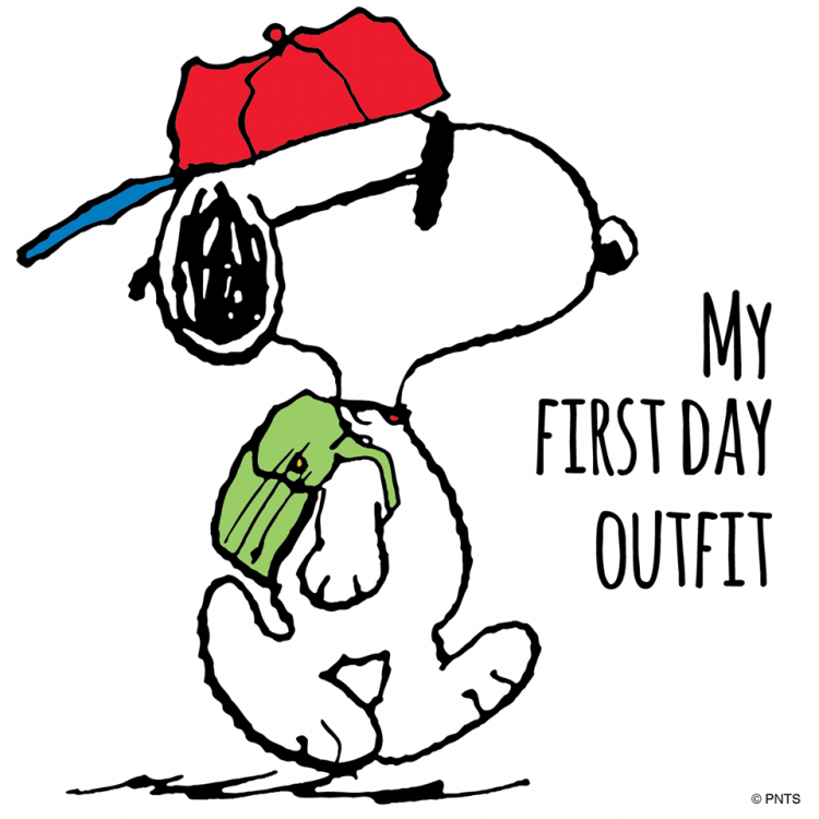 Image result for peanuts cartoons the first day of school
