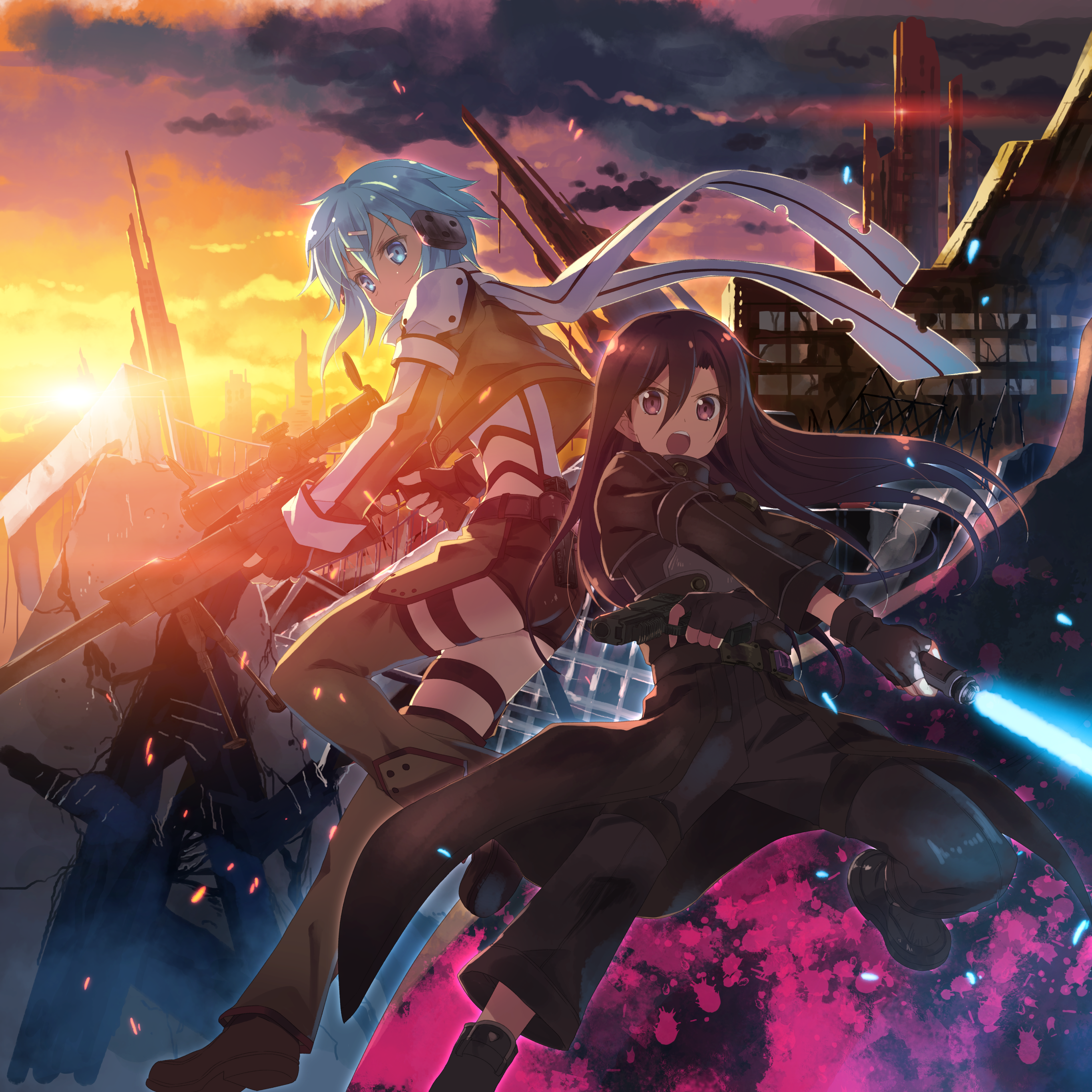 41 Death Gun (Sword Art Online) Forum Avatars | Profile
